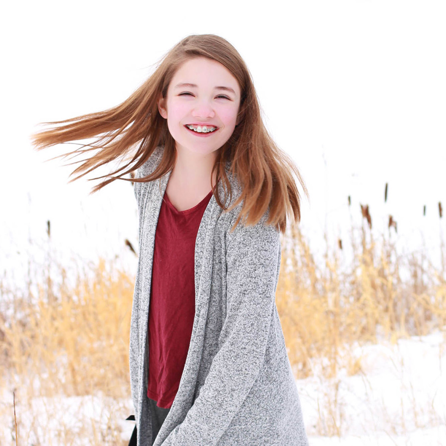 Emily F. – Actual Fort McMurray Orthodontics Patient